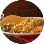 Green Enchilada Plate